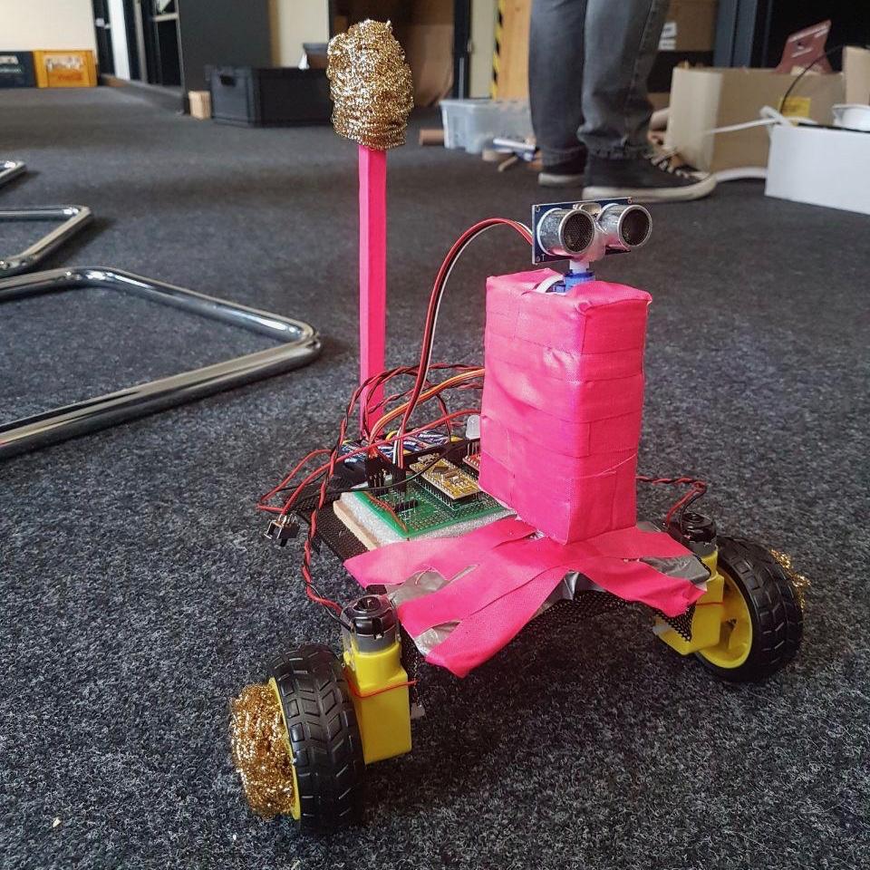 RoBat aus einem unserer Workshops